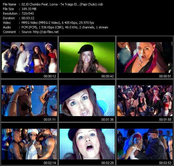 El Chombo Feat. Lorna - Te Traigo El...(Papi Chulo)