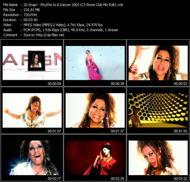 Snap! - Rhythm Is A Dancer 2003 (CJ Stone Club Mix Edit)