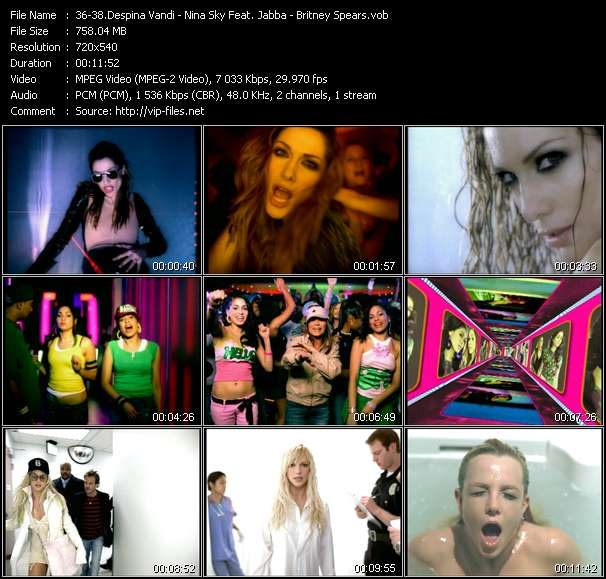 Despina Vandi - Nina Sky Feat. Jabba - Britney Spears - Opa Opa - Move Ya Body (Norty Cotto Remix Edit) - Everytime (Dr. Octavo's Translucent Club Mixshow Edit)