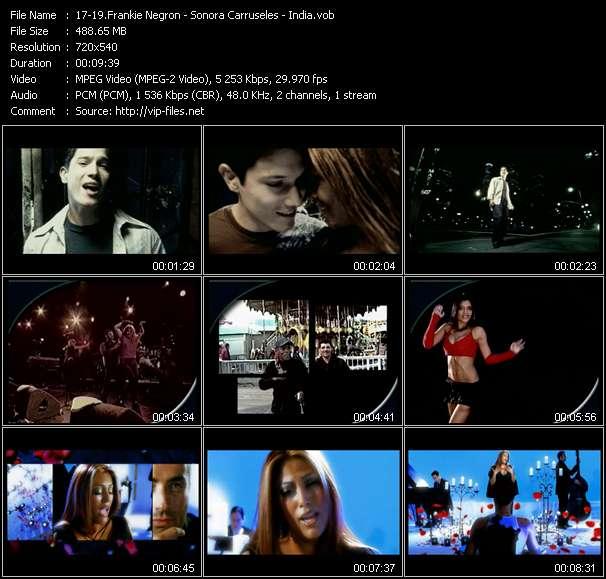Frankie Negron - Sonora Carruseles - India - Mi Mulata - Micaela - Seduceme