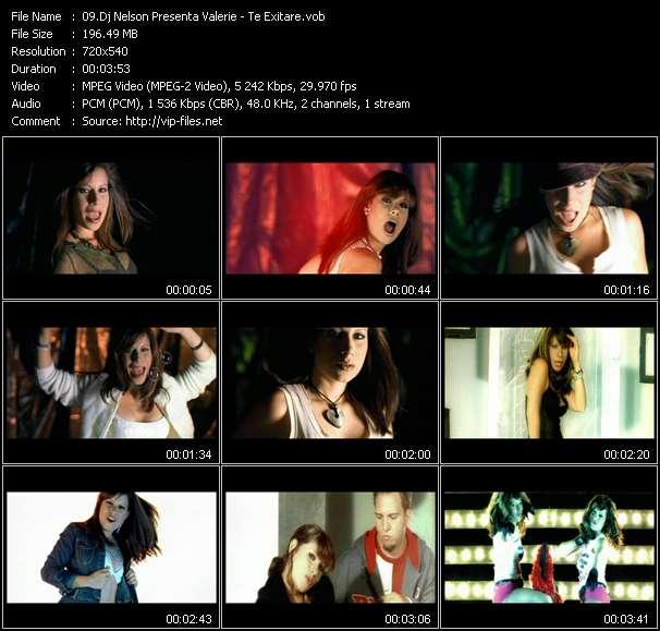 "Dj Nelson Presenta Valerie - Te Exitare (Fom ""Kakoteo Mix"")"