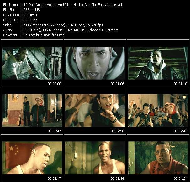 """Don Omar - Hector And Tito - Hector And Tito Feat. Jomar - Yo Puedo Con Todos - Villana - Dime Si Te Pongo Mal (From """"Blin Blin Vol.1"""")"""