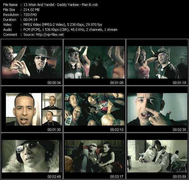 """Wisin And Yandel - Daddy Yankee - Plan B - Se Activaron Los Pistoleros - Aqui Esta Tu Caldo - Buscando Calor (From """"Blin Blin Vol.1"""")"""