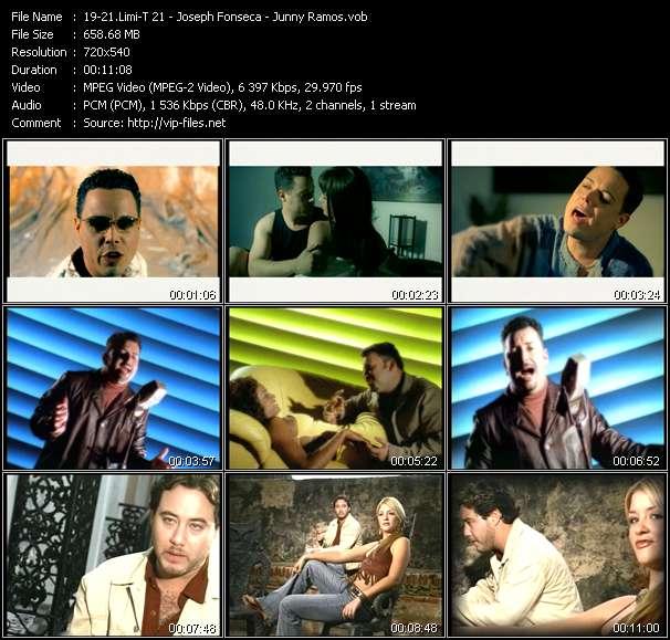 Limi-T 21 - Joseph Fonseca - Junny Ramos - Perdoname - Noche De Fantasia - Bella Idiota