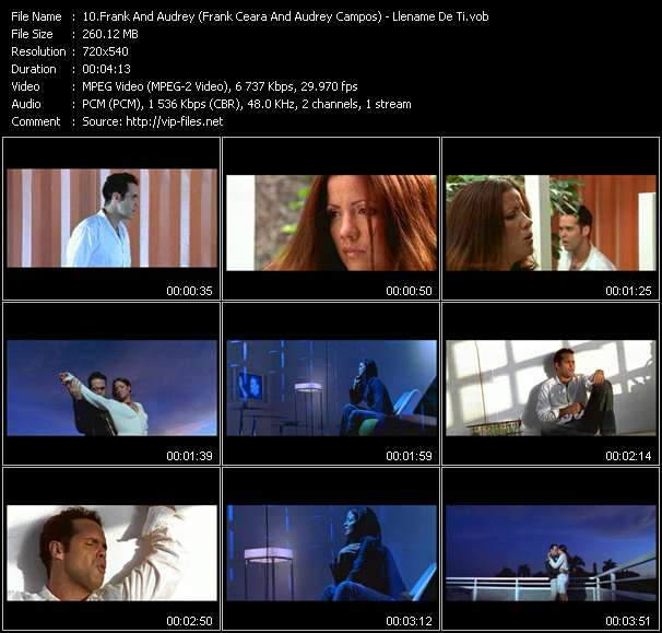 Frank And Audrey (Frank Ceara And Audrey Campos) - Llename De Ti