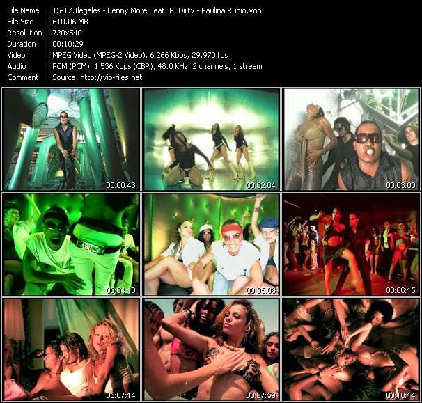 Ilegales - Benny More Feat. P. Dirty - Paulina Rubio - La Cosita - Bonito Y Sabroso 2003 - Y Yo Sigo Aqui
