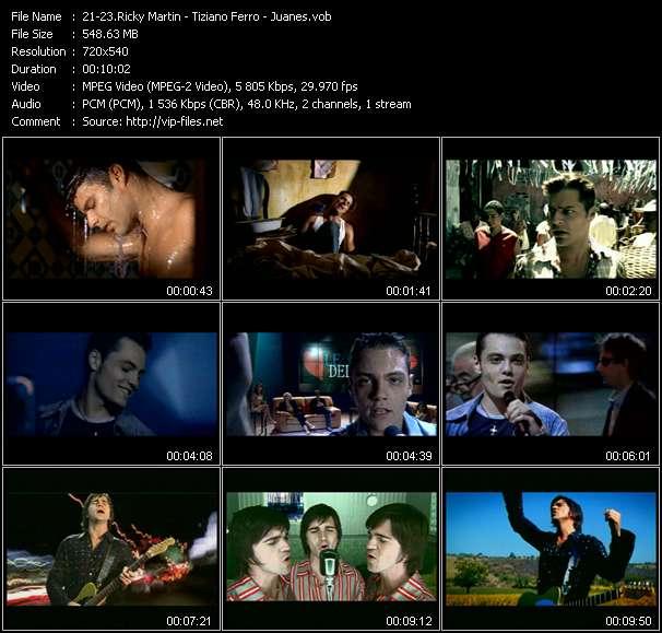 Ricky Martin - Tiziano Ferro - Juanes - Jaleo - Perdona - A Dios Le Pido