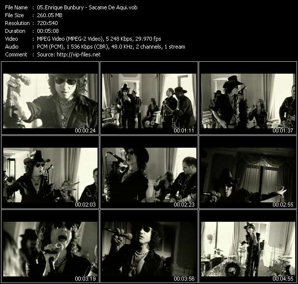 Enrique Bunbury - Sacame De Aqui