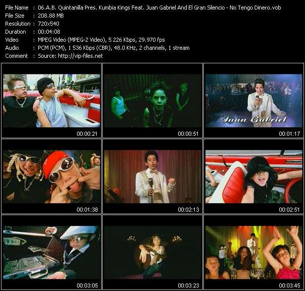 A.B. Quintanilla Pres. Kumbia Kings Feat. Juan Gabriel And El Gran Silencio - No Tengo Dinero