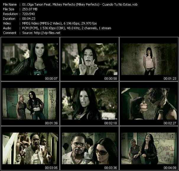 Olga Tanon Feat. Mickey Perfecto (Mikey Perfecto) - Cuando Tu No Estas