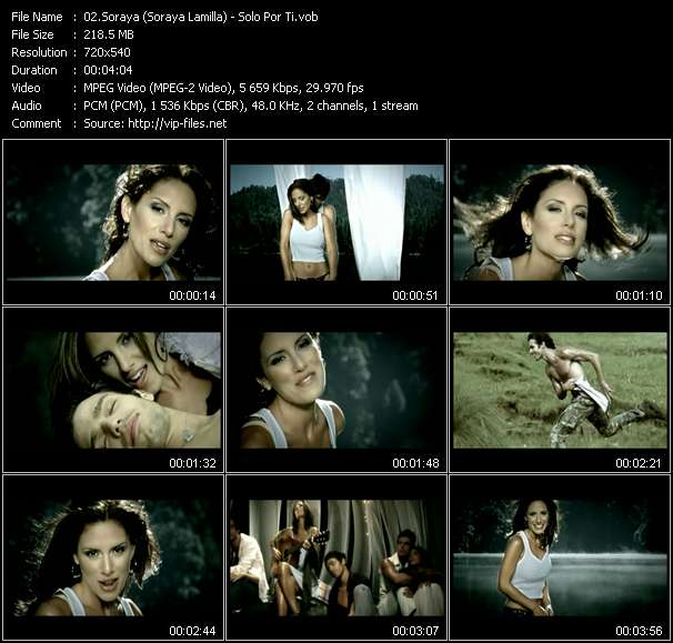 Soraya (Soraya Lamilla) - Solo Por Ti