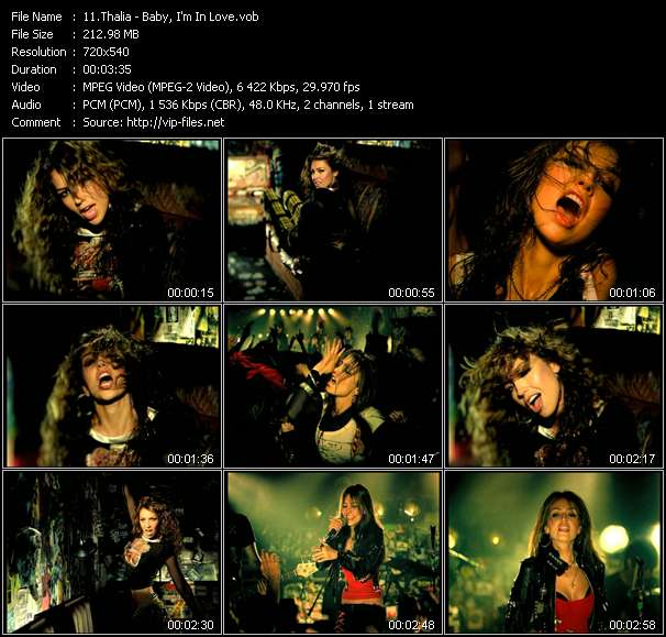 Thalia - Baby, I'm In Love