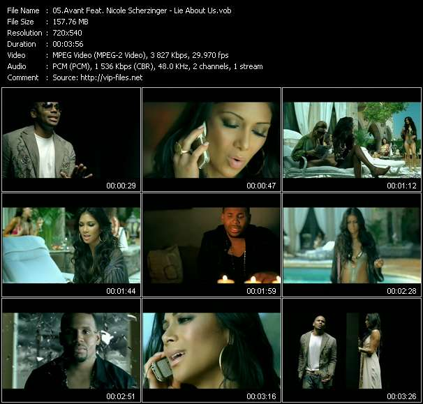 Avant Feat. Nicole Scherzinger - Lie About Us
