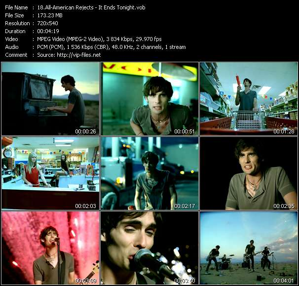 All-American Rejects - It Ends Tonight