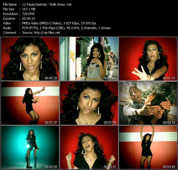 Paula DeAnda - Walk Away