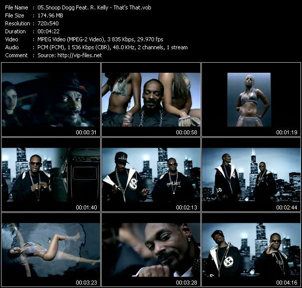 Snoop Dogg Feat. R. Kelly - That's That