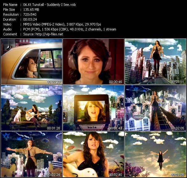 Kt Tunstall - Suddenly I See