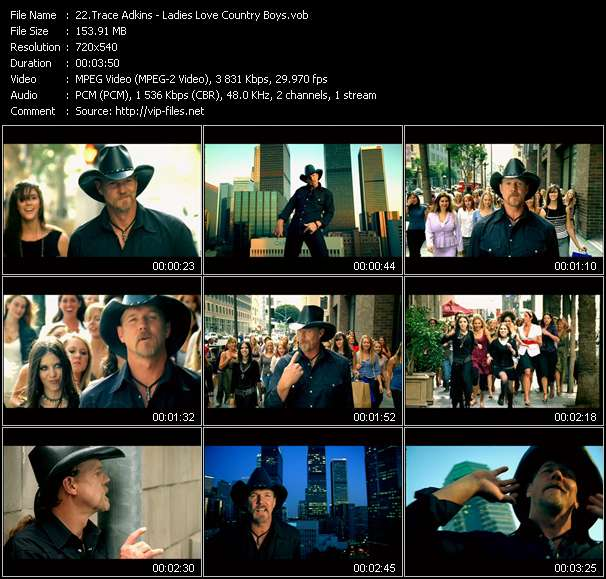 Trace Adkins - Ladies Love Country Boys
