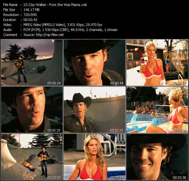 Clay Walker - Fore She Was Mama