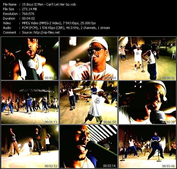 Boyz II Men - Can't Let Her Go