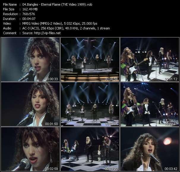 Bangles - Eternal Flame (TVE Video 1989)