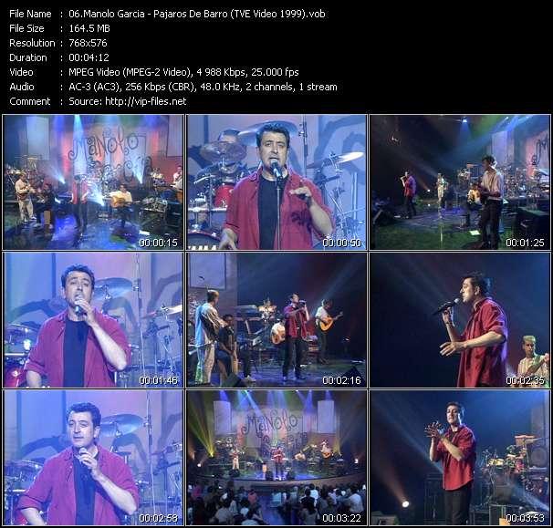 Manolo Garcia - Pajaros De Barro (TVE Video 1999)