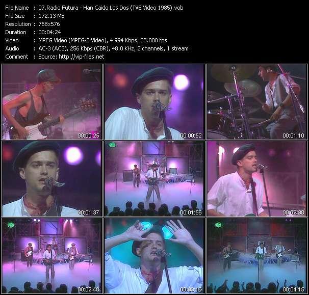 Radio Futura - Han Caido Los Dos (TVE Video 1985)