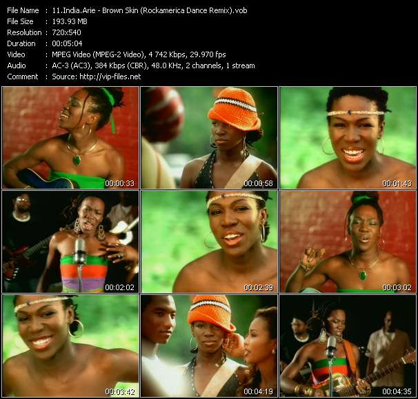 India.Arie - Brown Skin (Rockamerica Dance Remix)