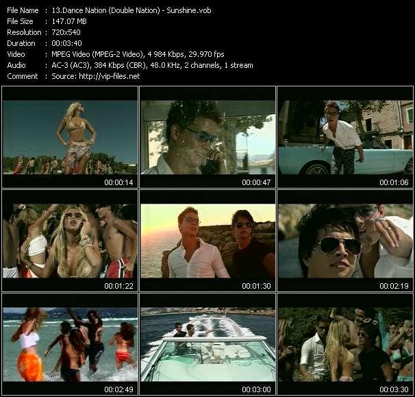 Dance Nation (Double Nation) - Sunshine