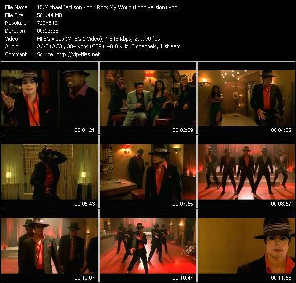 Michael Jackson - You Rock My World (Long Version)