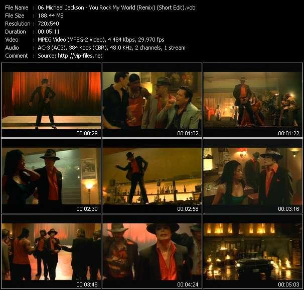 Michael Jackson - You Rock My World (Remix) (Short Edit)