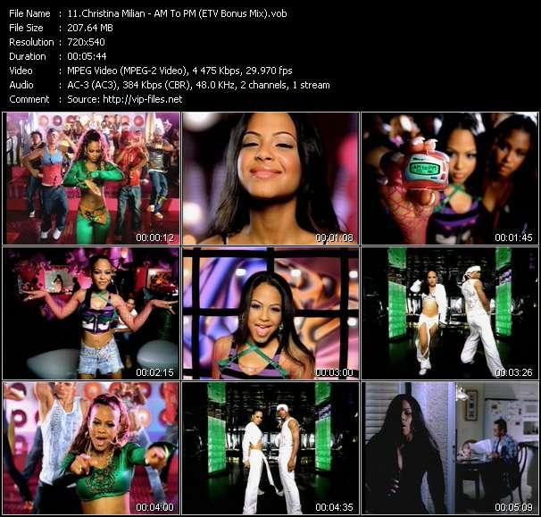 Christina Milian - AM To PM (ETV Bonus Mix)