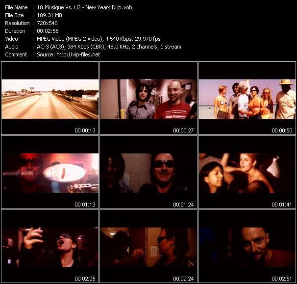 Musique Vs. U2 - New Years Dub