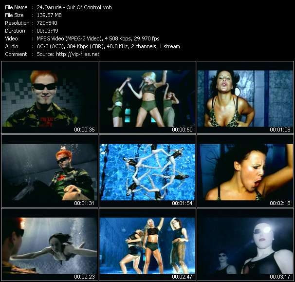 Darude - Out Of Control