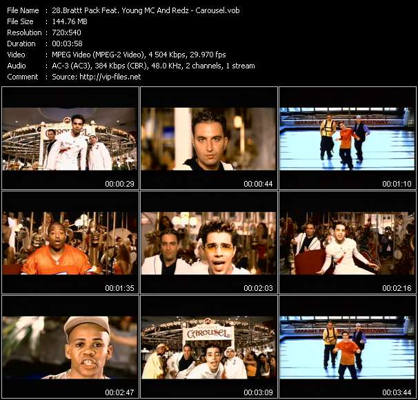 Brattt Pack Feat. Young MC And Redz - Carousel