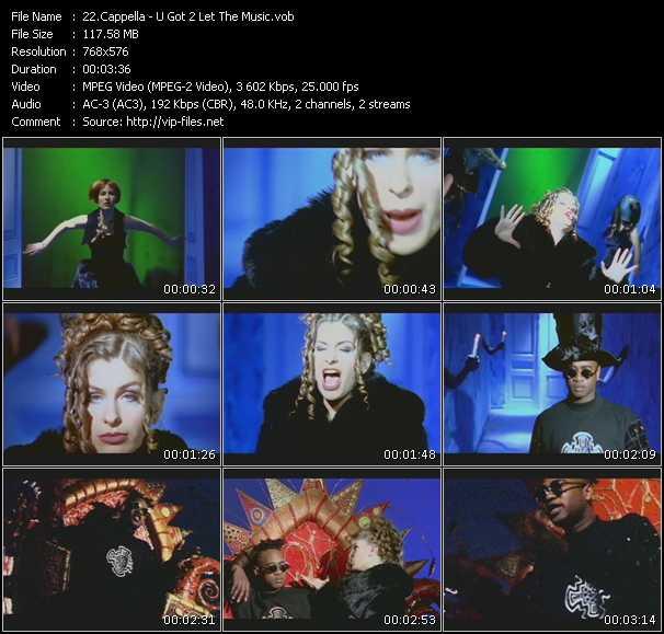 Cappella - U Got 2 Let The Music