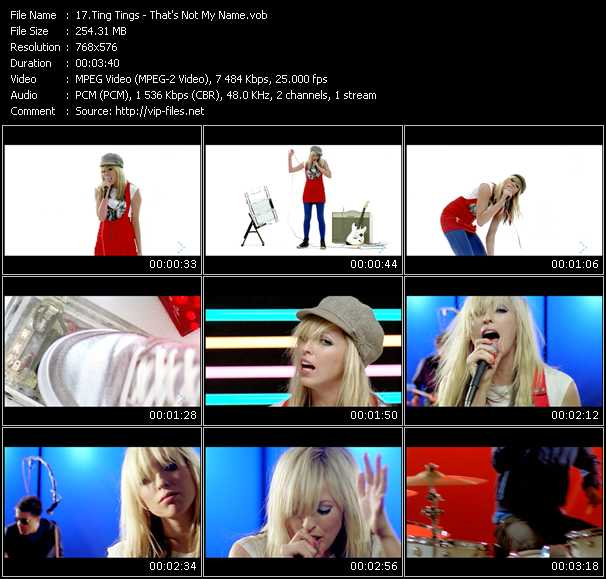 Ting Tings - That's Not My Name
