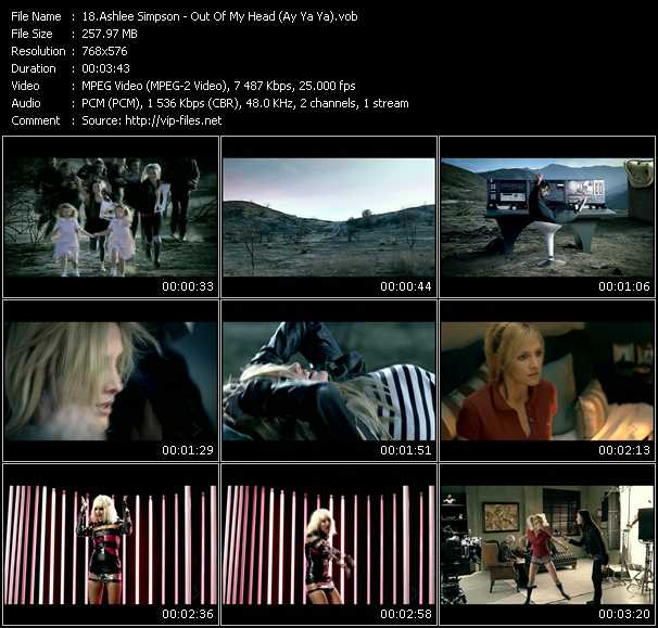 Ashlee Simpson - Out Of My Head (Ay Ya Ya)