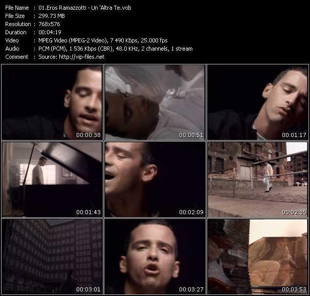 Eros Ramazzotti - Un 'Altra Te