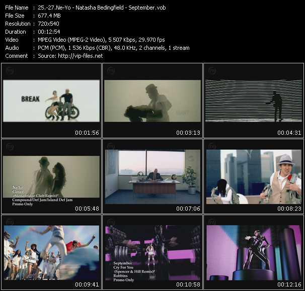 Ne-Yo - Natasha Bedingfield - September - Closer (Stonebridge Club Remix) - Pocketful Of Sunshine (Stonebridge Club Edit) - Cry For You (Spencer And Hill Remix)
