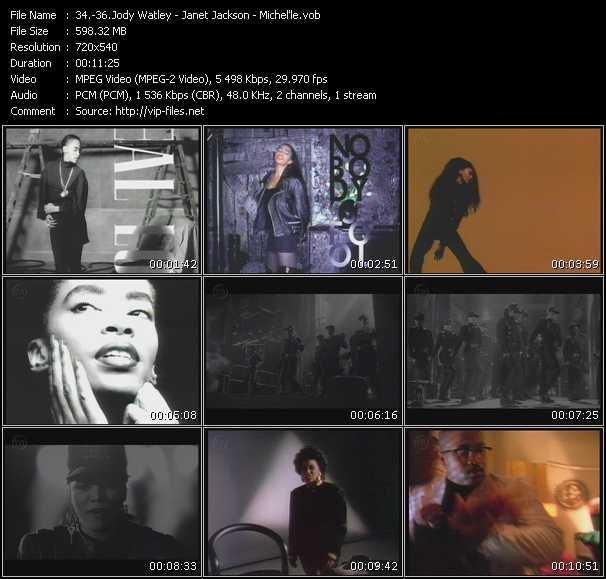 Jody Watley - Janet Jackson - Michel'le - Real Love - Rhythm Nation - No More Lies