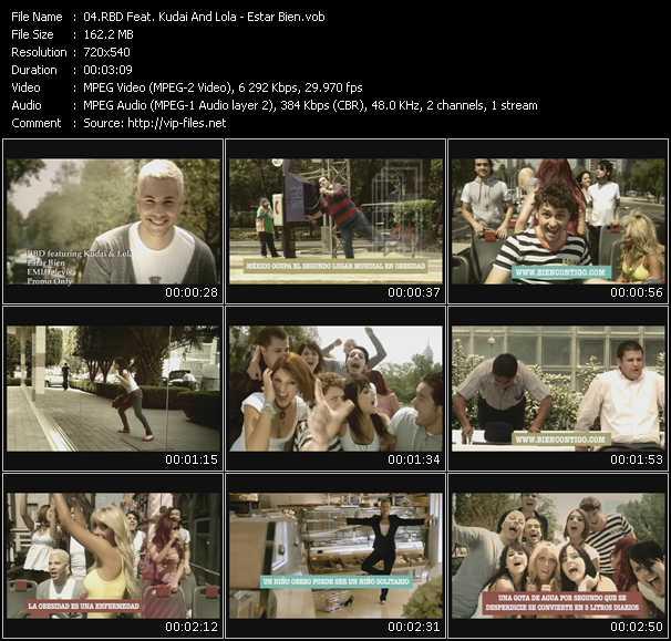 Rbd Feat. Kudai And Lola - Estar Bien