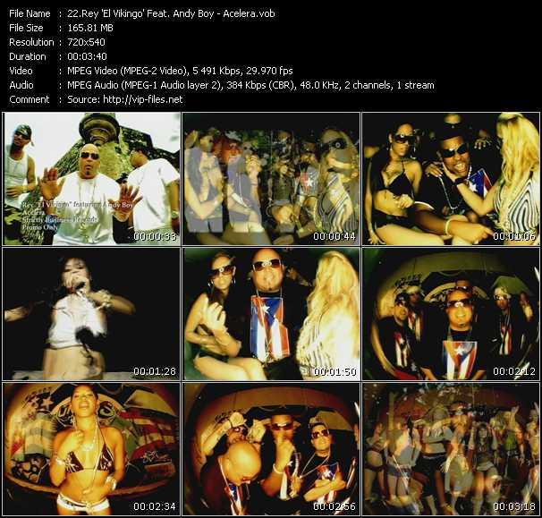 Rey 'El Vikingo' Feat. Andy Boy - Acelera
