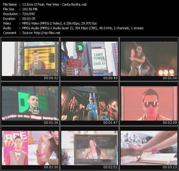 Erre XI Feat. Pee Wee - Carita Bonita