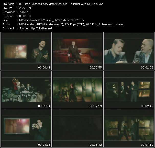 Issac Delgado Feat. Victor Manuelle - La Mujer Que Te Duele