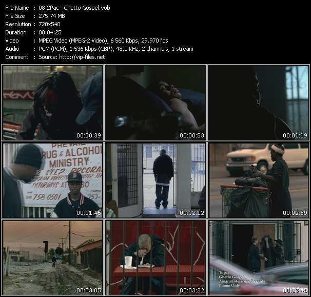 2Pac (Tupac Shakur) - Ghetto Gospel