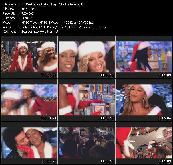 Destiny's Child - 8 Days Of Christmas