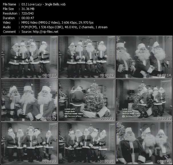 I Love Lucy - Jingle Bells