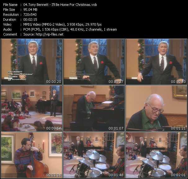 Tony Bennett - I'll Be Home For Christmas