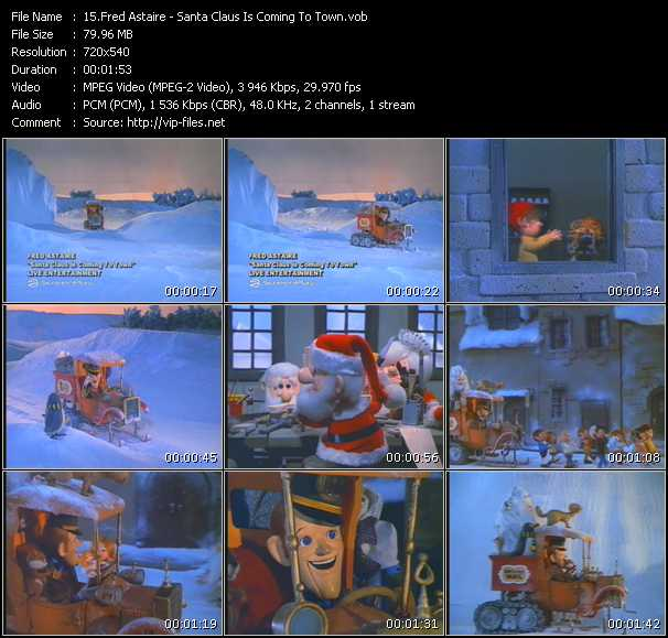 Fred Astaire - Santa Claus Is Coming To Town